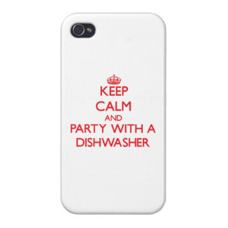 Keep Calm and Party With a Dishwasher Case For iPhone 4