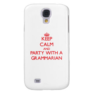 Keep Calm and Party With a Grammarian HTC Vivid / Raider 4G Case