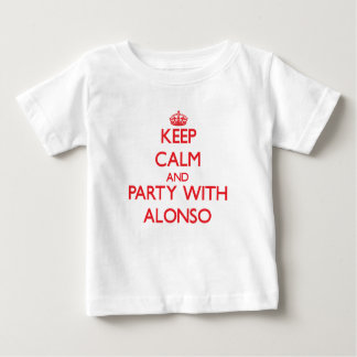 Keep calm and Party with Alonso Infant T-Shirt