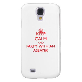Keep Calm and Party With an Assayer Galaxy S4 Case