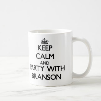 Keep Calm and Party with Branson Mugs