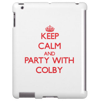 Keep calm and Party with Colby