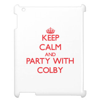 Keep calm and Party with Colby iPad Case