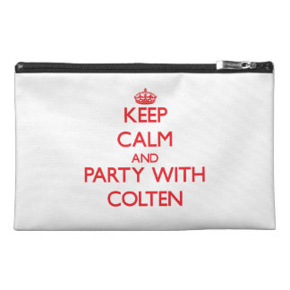 Keep calm and Party with Colten Travel Accessory Bag