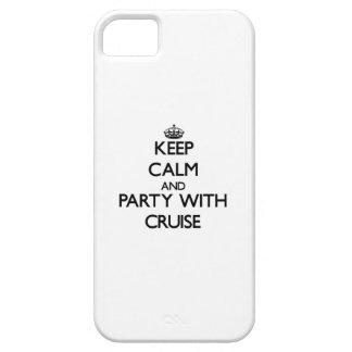 Keep calm and Party with Cruise iPhone 5 Cases