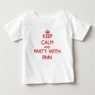 Keep calm and Party with Finn Shirts