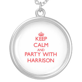 Keep calm and Party with Harrison Necklace