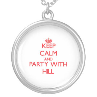 Keep calm and Party with Hill Pendant