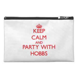 Keep calm and Party with Hobbs Travel Accessories Bags