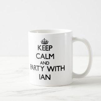Keep Calm and Party with Ian Coffee Mug