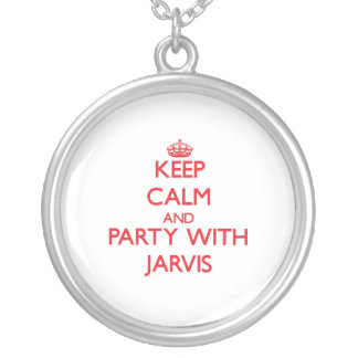 Keep calm and Party with Jarvis Necklace