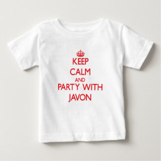 Keep calm and Party with Javon Shirts