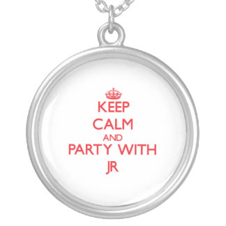 Keep calm and Party with Jr Custom Jewelry