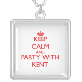 Keep calm and Party with Kent Necklaces