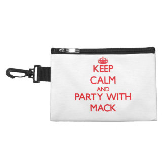 Keep calm and Party with Mack Accessory Bags