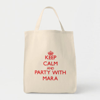 Keep Calm and Party with Mara Bags