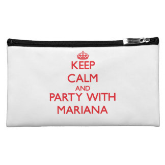 Keep Calm and Party with Mariana Makeup Bag
