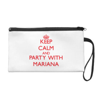 Keep Calm and Party with Mariana Wristlet