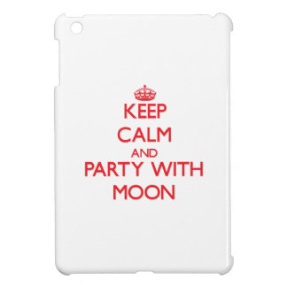 Keep calm and Party with Moon iPad Mini Cases