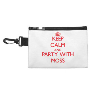 Keep calm and Party with Moss Accessories Bags