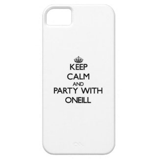 Keep calm and Party with Oneill iPhone 5 Case