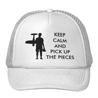 Keep Calm and Pick Up The Pieces Cap