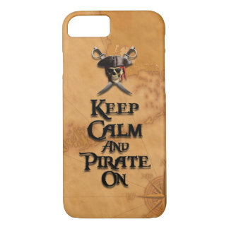 Keep Calm And Pirate On iPhone 8/7 Case