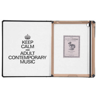 KEEP CALM AND PLAY ADULT CONTEMPORARY MUSIC COVER FOR iPad