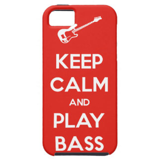 Keep Calm and Play Bass Case For The iPhone 5
