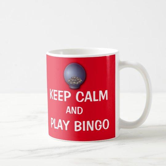 Keep Calm and Play Bingo Funny Saying Cute