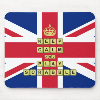 Keep Calm And Play Board Games Mouse Pad