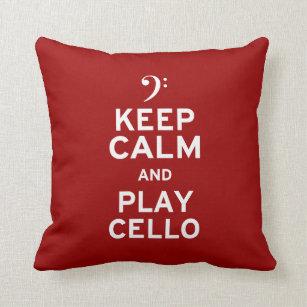311 Keep Calm and Call Mom Peach Pillow