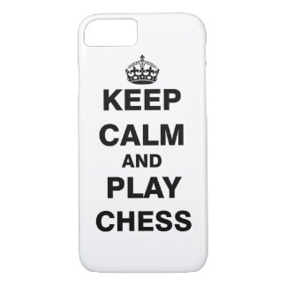 Keep Calm and Play Chess iPhone 7 Case
