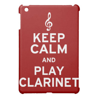 Keep Calm and Play Clarinet Cover For The iPad Mini