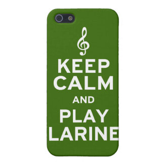 Keep Calm and Play Clarinet iPhone 5 Case