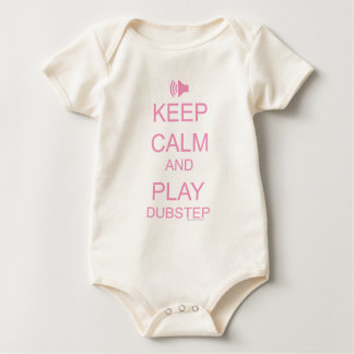 KEEP CALM and PLAY DUBSTEP Rompers