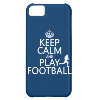 Keep Calm and Play Football (American Football) iPhone 5C Case