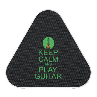 Keep Calm and Play Guitar (Acoustic) Speaker