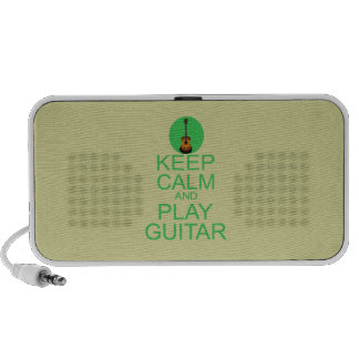 Keep Calm and Play Guitar (Acoustic) Travel Speaker