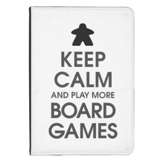 Keep Calm and Play More Board Games Kindle 4 Case