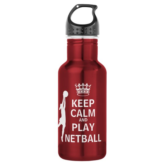 Keep Calm and Play Netball 532 Ml Water