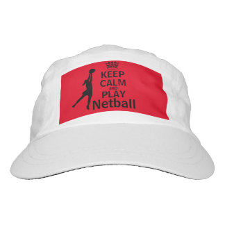 Keep Calm and Play Netball Hat