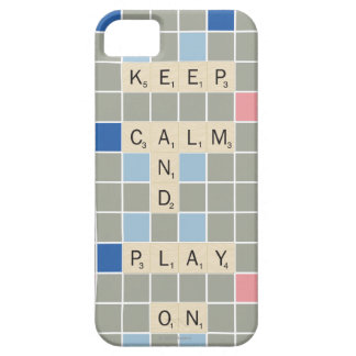 Keep Calm And Play On Case For The iPhone 5