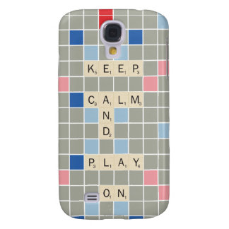 Keep Calm And Play On Galaxy S4 Case