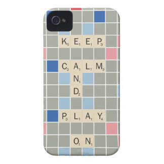 Keep Calm And Play On iPhone 4 Case-Mate Cases