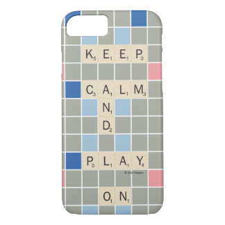 Keep Calm And Play On iPhone 7 Case