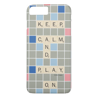Keep Calm And Play On iPhone 8 Plus/7 Plus Case