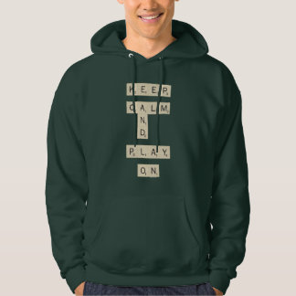 Keep Calm And Play On - joined Hoodie