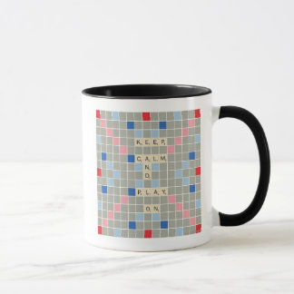 Keep Calm And Play On Mug