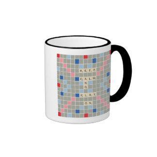 Keep Calm And Play On Ringer Mug